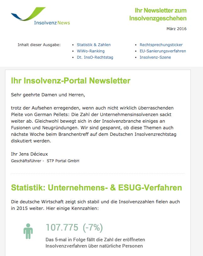 InsO-News: Informationen mit Tipps & Tricks zum Insolvenz-Portal